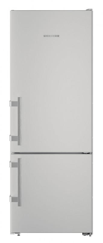 Liebherr CUsl 2915 kombinovaná chladnička, stříbrná + Akce 5 let záruka zdarma