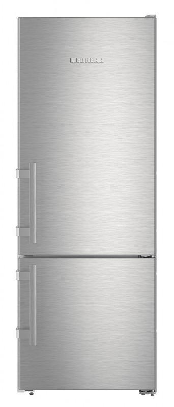 Liebherr CUef 2915 kombinovaná chladnička, nerez + Akce 5 let záruka zdarma