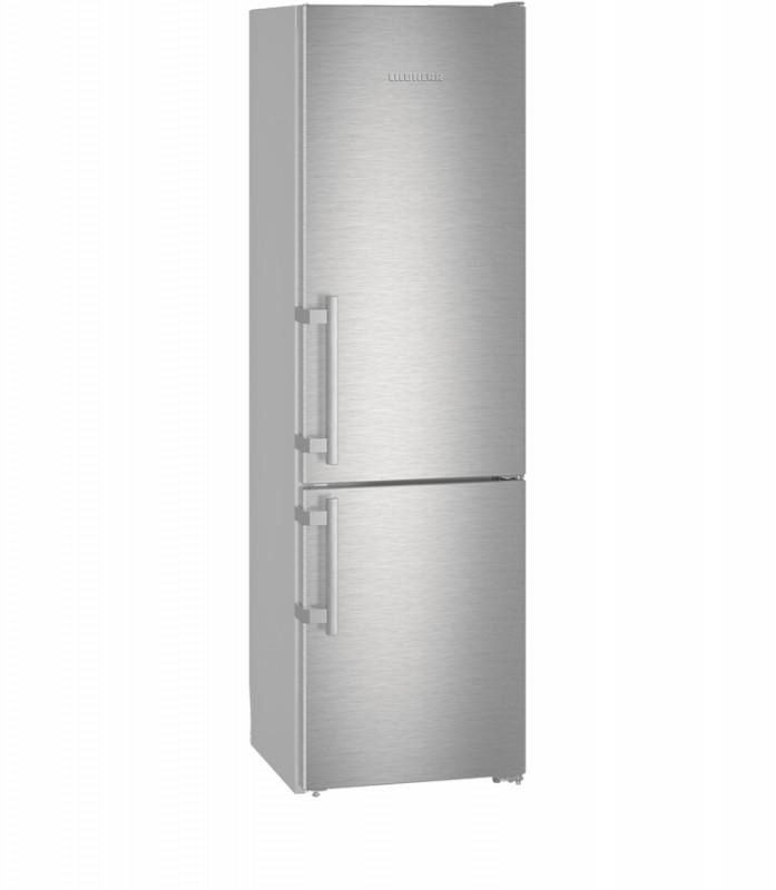Liebherr Cef 3825 kombinovaná chladnička, nerez + Akce 5 let záruka zdarma