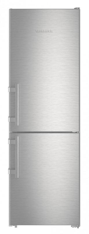 Liebherr Cef 3525 kombinovaná chladnička, nerez + Akce 5 let záruka zdarma