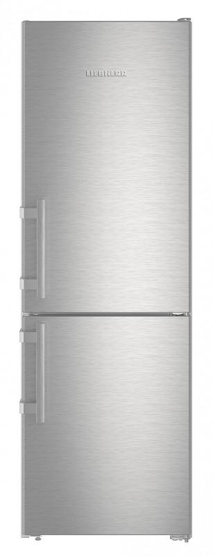 Liebherr Cef 3425 kombinovaná chladnička, nerez + Akce 5 let záruka zdarma