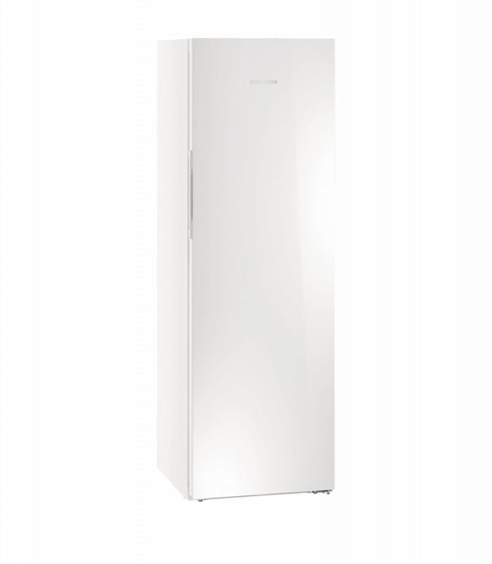Liebherr KBPgw 4354 kombinovaná chladnička, BluPerformance, bílé sklo + Akce 5 let záruka zdarma