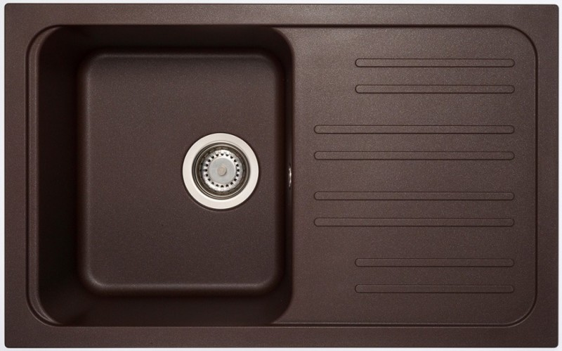 Set Sinks Sinks CLASSIC 740 Marone + Sinks MIX 35 - 93 Marone