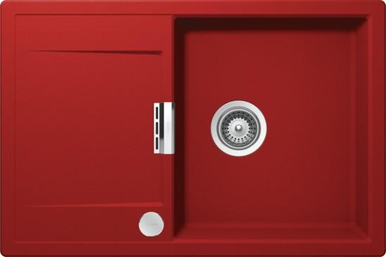 Schock Mono D-100 CRISTADUR Rouge granitový dřez spodní montáž