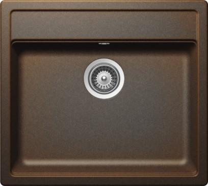 Schock Mono N-100 CRISTADUR Vintage granitový dřez horní montáž