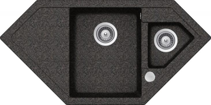 Schock Signus C-150 CRISTADUR Rockenstein granitový dřez do roviny