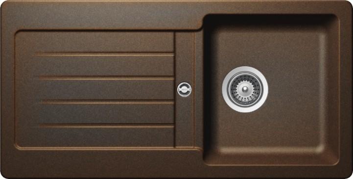 Schock Signus D-100S CRISTADUR Vintage granitový dřez spodní montáž