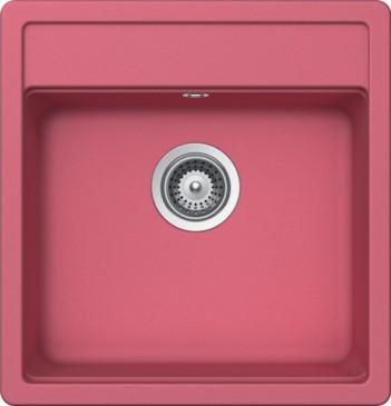 Schock Nemo N-100S CRISTALITE+ Pink granitový dřez spodní montáž