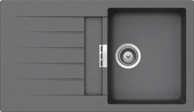 Schock Primus D-100 CRISTALITE+ Croma granitový dřez horní montáž