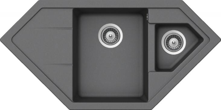 Schock Primus C-150 CRISTALITE+ Croma granitový dřez horní montáž