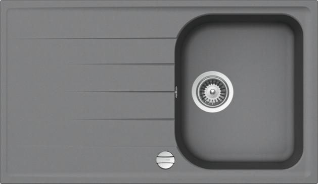 Schock Viola D-100 CRISTALITE+ Croma granitový dřez horní montáž