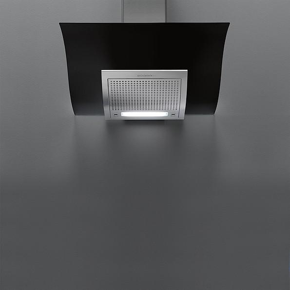Falmec ADARA DESIGN černá nástěnný 90 cm 800 m3/h