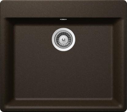 Schock Mono N-100L CRISTADUR Bronze granitový dřez horní montáž