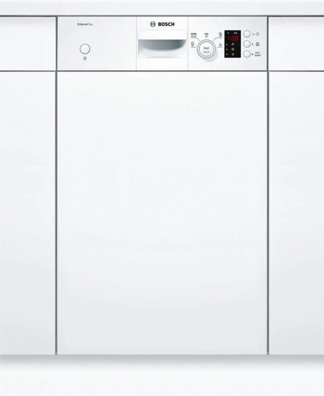 Bosch SPI50E92EU Silence Plus, vestavná myčka s panelem, bílá, 45 cm