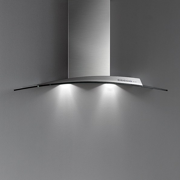 Falmec ATLAS DESIGN sklo nástěnný 90 cm 800 m3/h
