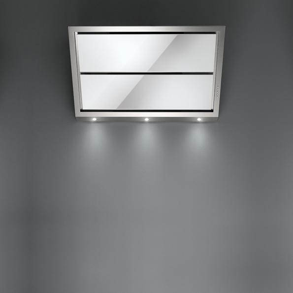 Falmec GLEAM DESIGN bílé nástěnný 90 cm 800 m3/h