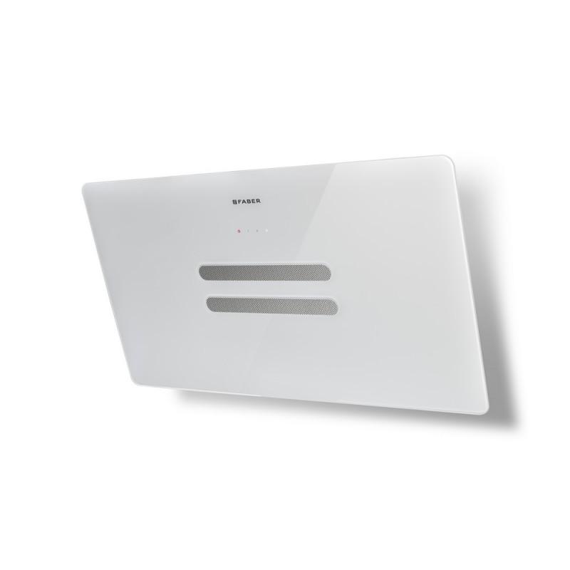 Faber VANITY EG6 WH A80 bílá / bílé sklo + Akce 5 let záruka zdarma