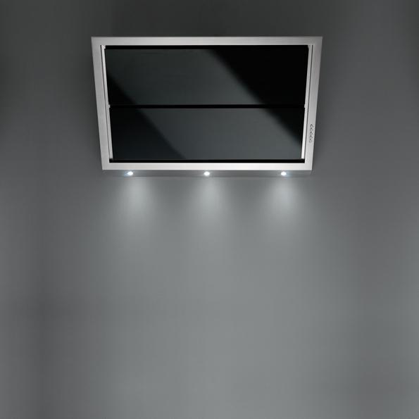 Falmec GLEAM DESIGN černé nástěnný 90 cm 800 m3/h