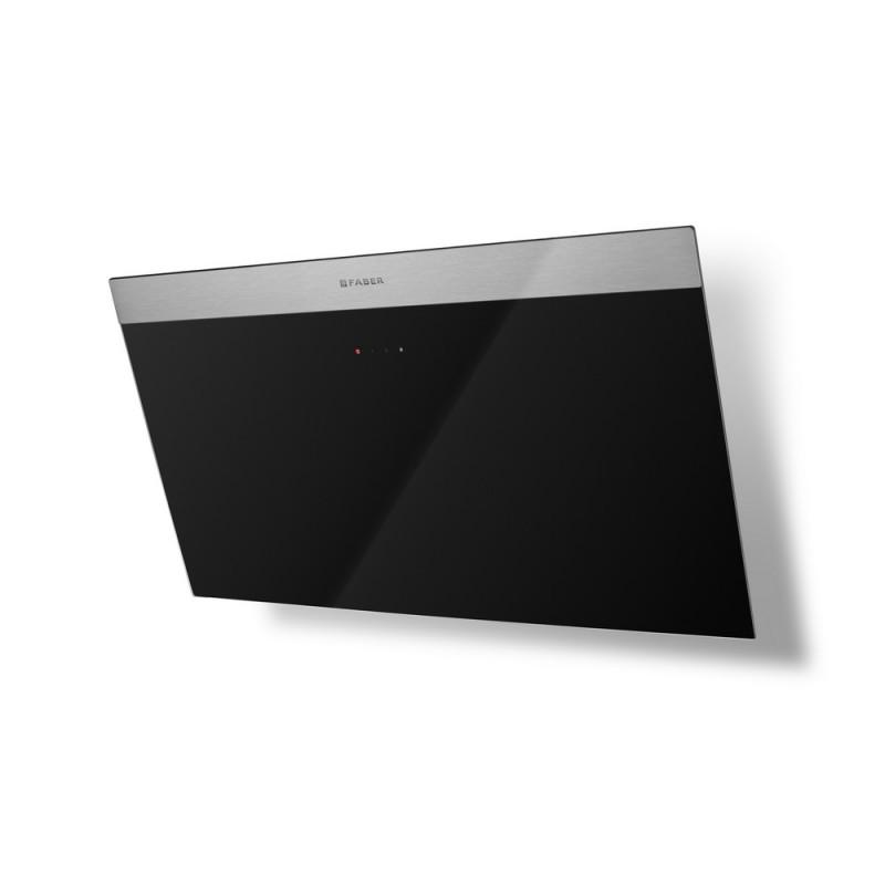Faber DAISY EG6 BK A80 nerez / černé sklo s nerez páskem + Akce 5 let záruka zdarma