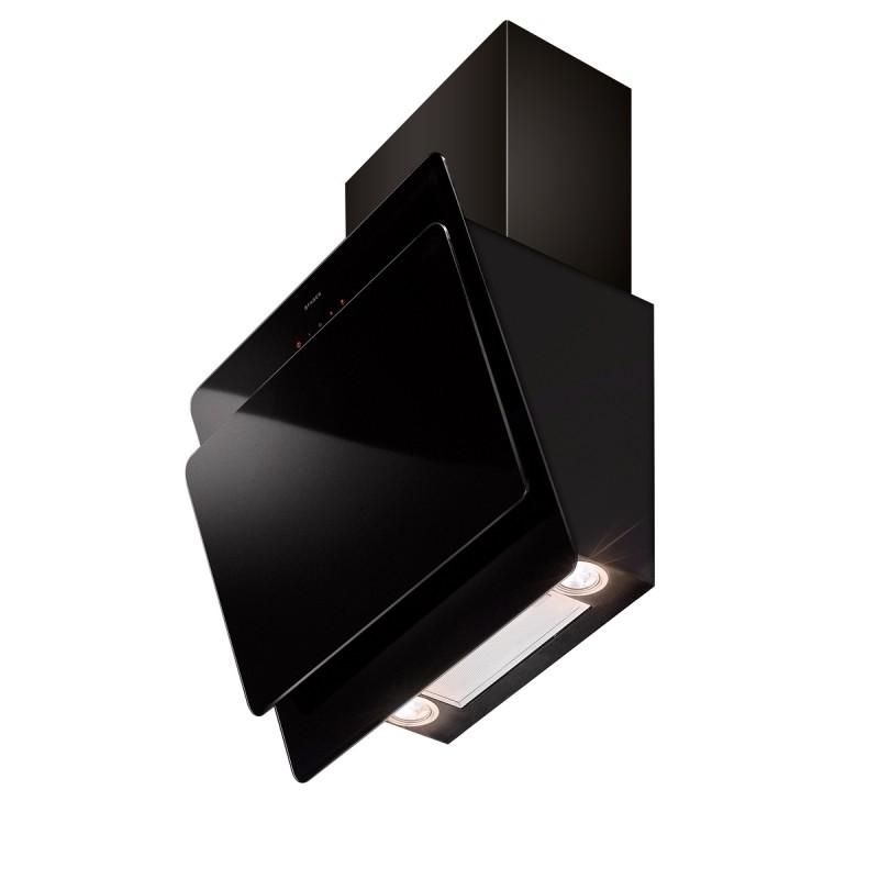 Faber COCKTAIL XS EG6 BK A55 černá / černé sklo + Akce 5 let záruka zdarma
