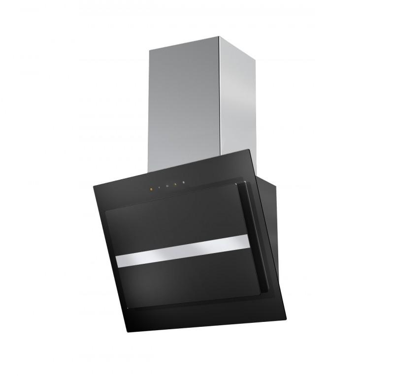 Faber NORTHIA EV8 BK/X A60 černá / černé sklo + Akce 5 let záruka zdarma