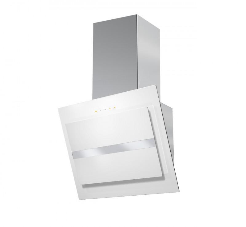 Faber NORTHIA EV8 W/X A60 nerez / bílé sklo + Akce 5 let záruka zdarma