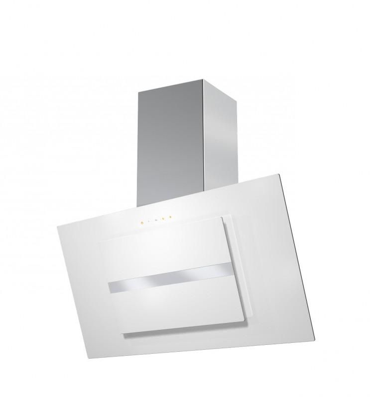 Faber NORTHIA EV8 W/X A90 nerez / bílé sklo + Akce 5 let záruka zdarma