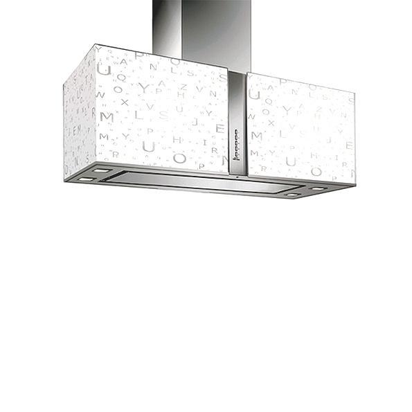 Falmec ALPHABET/LED MIRABILIA ostrůvkový 85 cm 800 m3/h