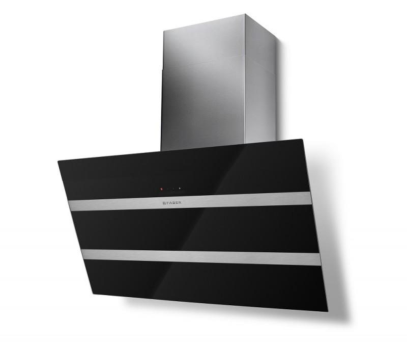 Faber STEELMAX EV8 BK/X A80 černá / černé sklo + Akce 5 let záruka zdarma