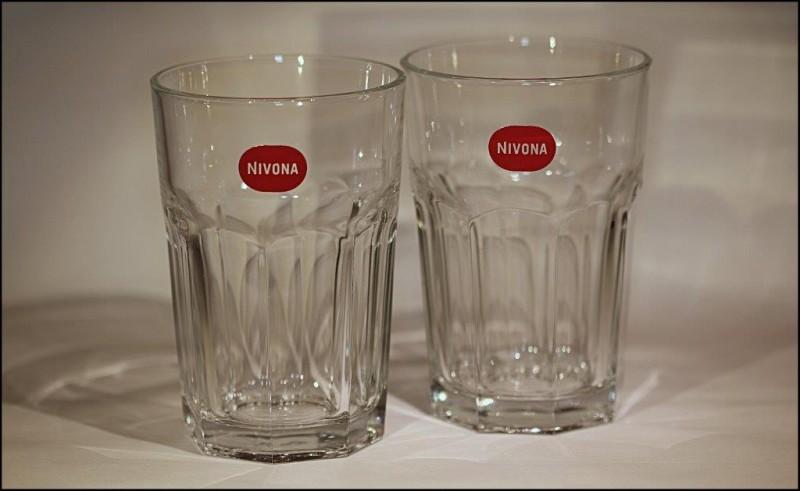 Nivona NILM 300 skleničky LatteMacchiatto