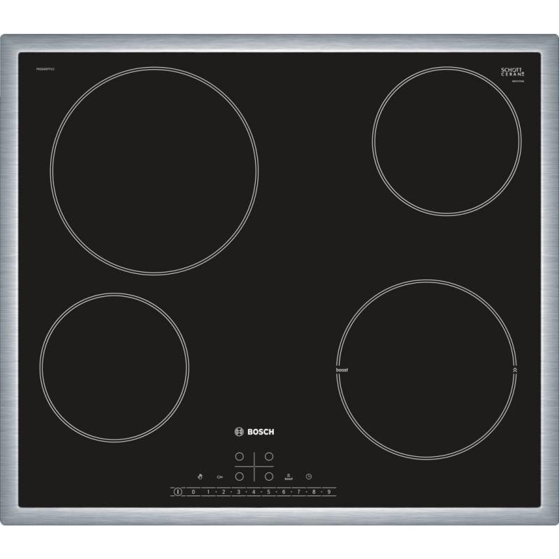 Bosch PKE645FP1E sklokeramická varná deska, černá, 60 cm