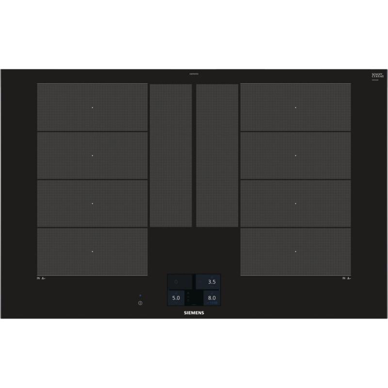 Siemens EX875KYE1E indukční varná deska s ovládáním, černá, 80 cm