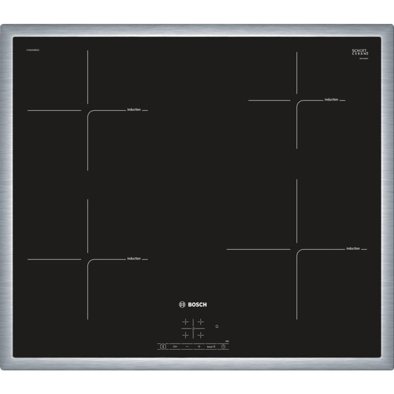 Bosch PUE645BB1E indukční varná deska s rámečkem, 60 cm