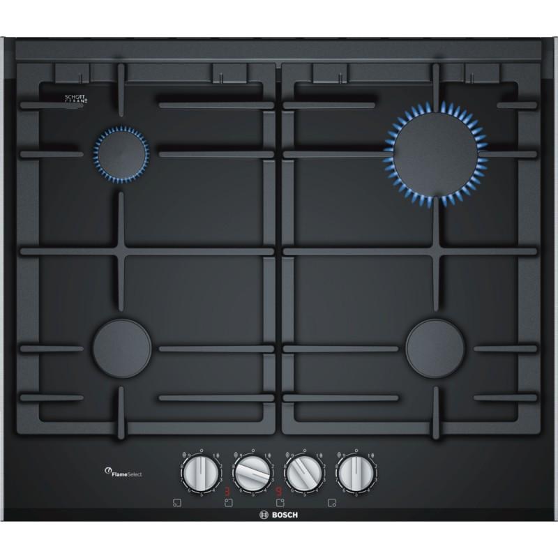 Bosch PRP6A6D70 plynová varná deska, černá, 60 cm