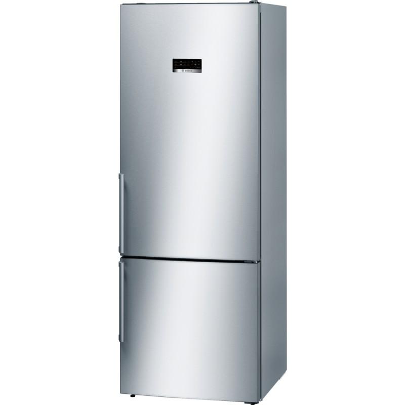 Bosch KGN56XI40 volněstojící kombinovaná lednice, nerez