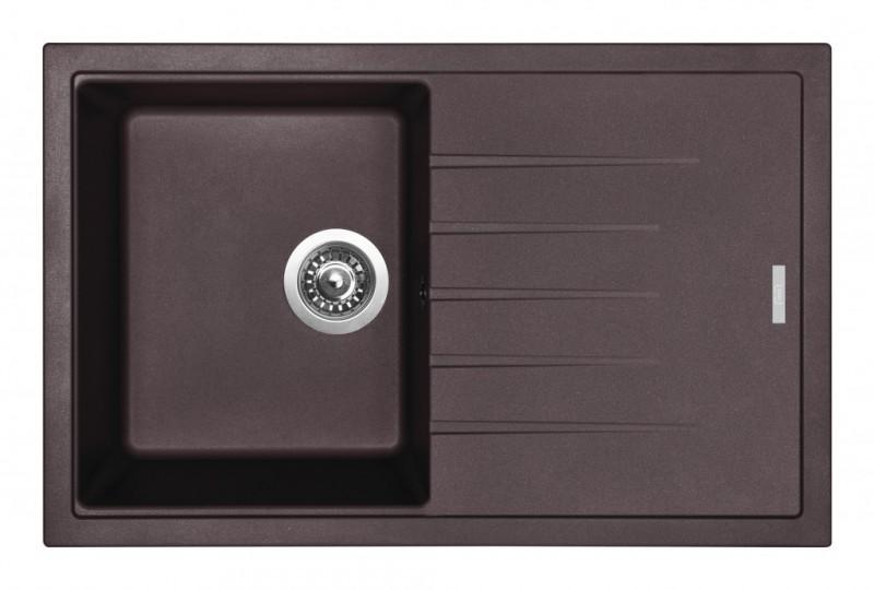 Set Sinks Sinks BEST 780 Marone + Sinks MIX 35 - 93 Marone