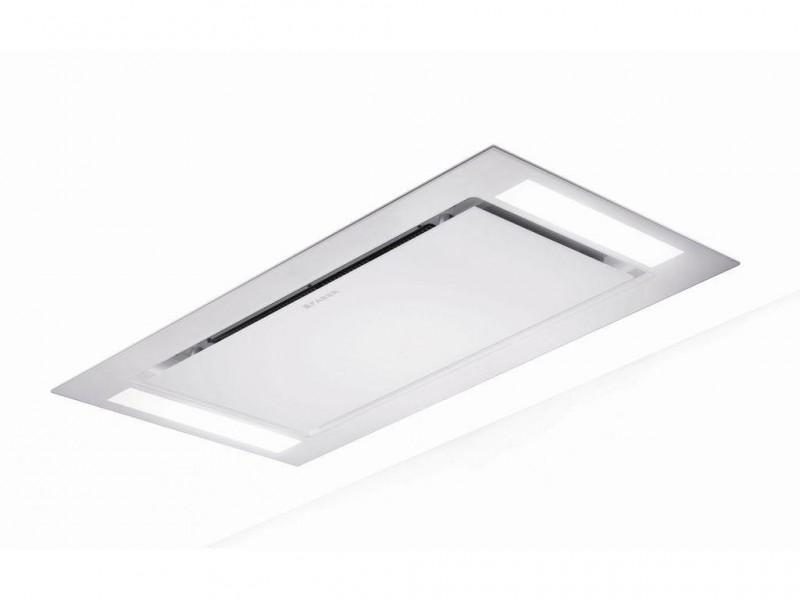 Faber Heaven Glass 2.0 WH FLAT A120 bílé sklo + Akce 5 let záruka zdarma
