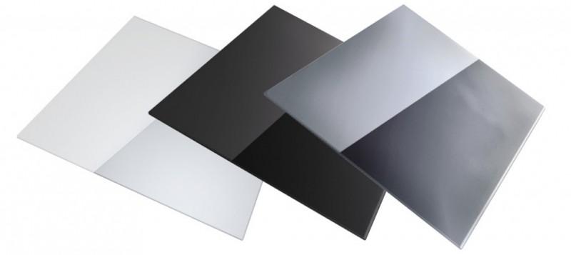 Sinks Sinks přípravná deska - sklo bílé