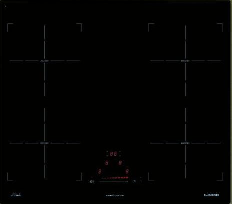 Lord IH 6070 Sante indukční varná deska, černá, 60 cm
