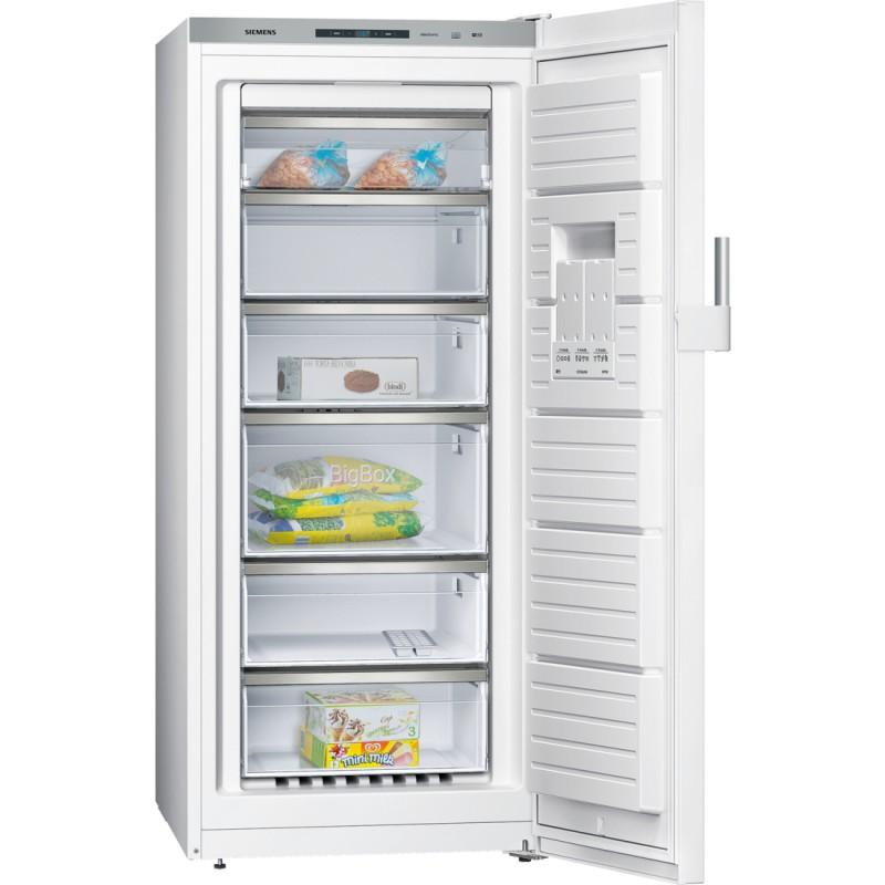 Siemens GS51NEW30 zásuvkový volněstojící mrazák, NoFrost, bílá