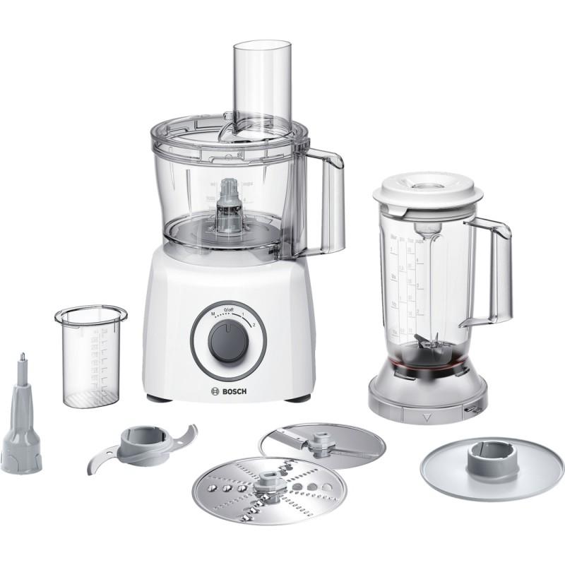 Bosch MCM3200W Kompaktní kuchyňský robot příkon: 800 W bílá / šedá - Novinky