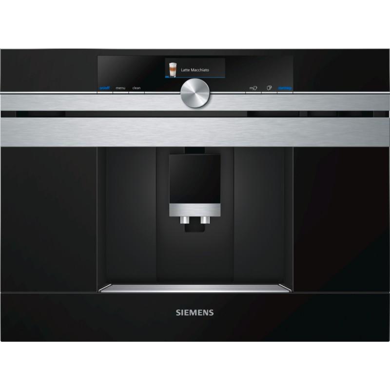 Siemens CT636LES1 plně automatický kávovar, nerez - Akce