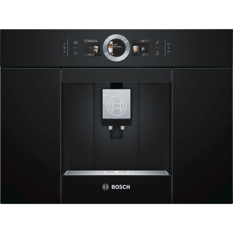Bosch CTL636EB1 plně automatický kávovar, černá