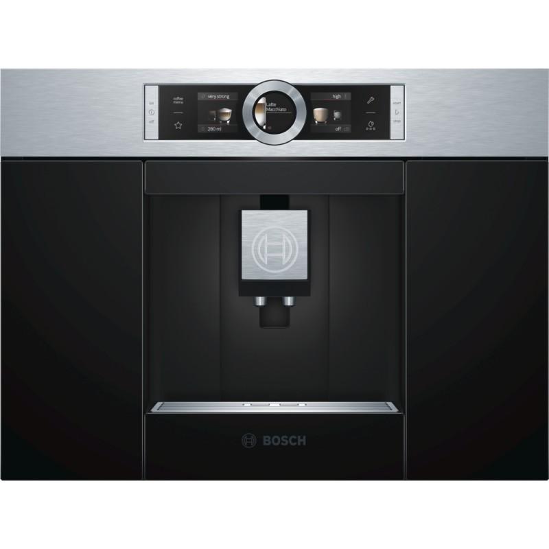 Bosch CTL636ES1 plně automatický kávovar nerez, černá - Akce