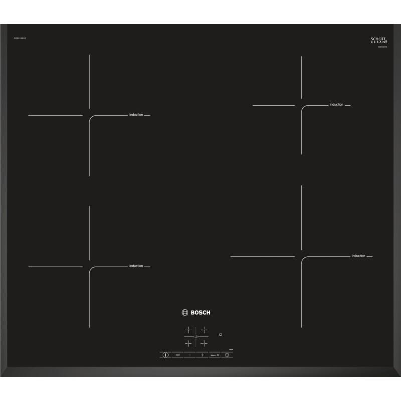 Bosch PIE651BB1E indukční varná deska, černá, 60 cm