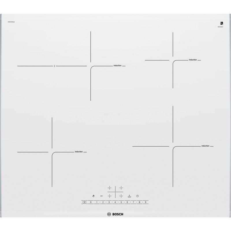 Bosch PIF672FB1E indukční varná deska, bílá, 60 cm