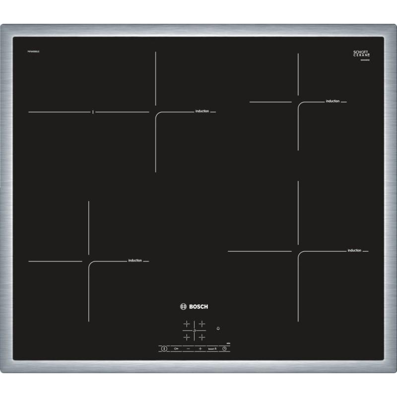 Bosch PIF645BB1E indukční varná deska s rámečkem, 60 cm, černá