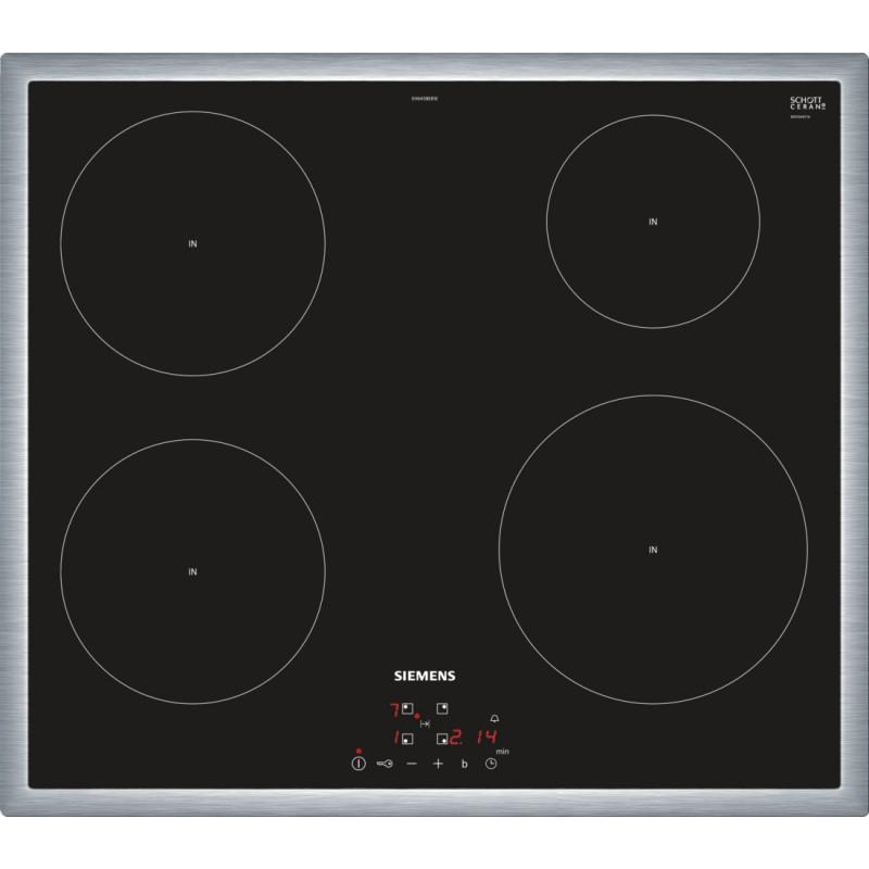 Siemens EH645BEB1E indukční varná deska, černá, 60 cm
