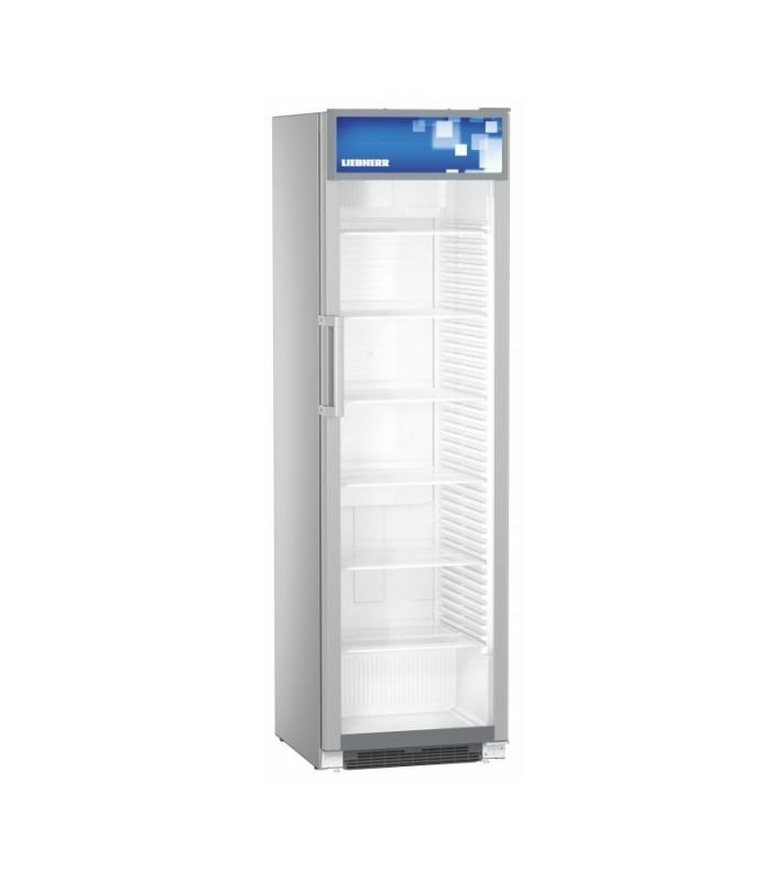 Liebherr FKDV 4513 prosklená chladnička s ventilátorem, stříbrná