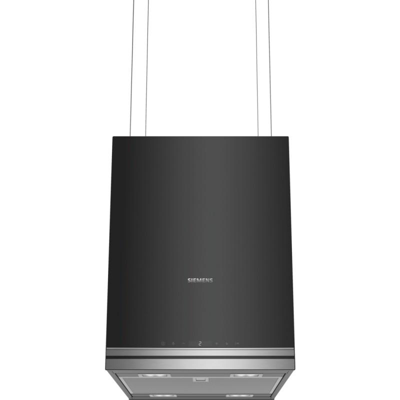 Siemens LF31IVP60 ostrůvkový odsavač par, recirkulační, černý, 37 cm
